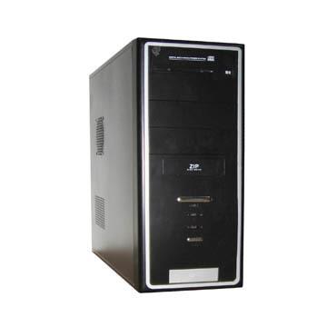 CAJA MEDIA TORRE DX-TM637C SGCC 0.5MM FUENTE PODER 450W 24PIN SATA RMA