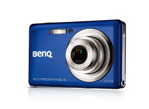 camara digital benq dc e1240 12mp panasonic 1/2.3in ccd 3x opt 5x/12x preview/playback digital lcd 2.7in 230k pixels azul 12m / 3:2 / 8m / 5m/ 3m / hd 16:9 / vga