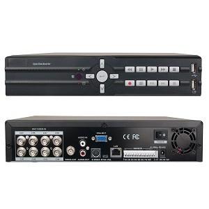 GRABADOR CCTV DVR 8 CANALES VGA S-VIDEO BNC 2USB 60/50FPS TOTAL 240/200FPS NTSC/PAL RS-485 RED 10/100 VID-A-S0801N9
