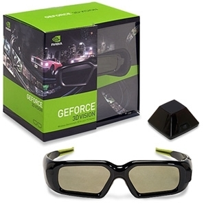 LENTES ESTEREOSCOPICOS NVIDIA PARA VISION 3D REQUIERE PANTALLA 3D TARJETA DE VIDEO COMPATIBLE COMPUTADOR WIN.VISTA O WIN.7 942-10701-0003-000