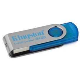 pen drive kingston 8gb dt101c/8gb cyan
