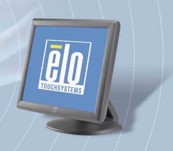 ELO 1715L 17in LCD TouchScreen 1280x1024 USB Negro