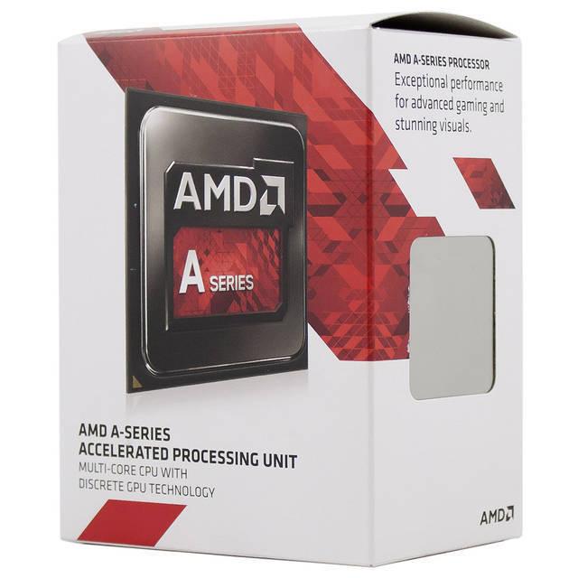 PROCESADOR AMD FM2+ A10-7800 KAVERI 4CORES APU 3.5GHZ MAX 3.9GHZ RADEON R7 720MHZ 4THREAD 4MB L2 28NM 65W AD7800YBJABOX