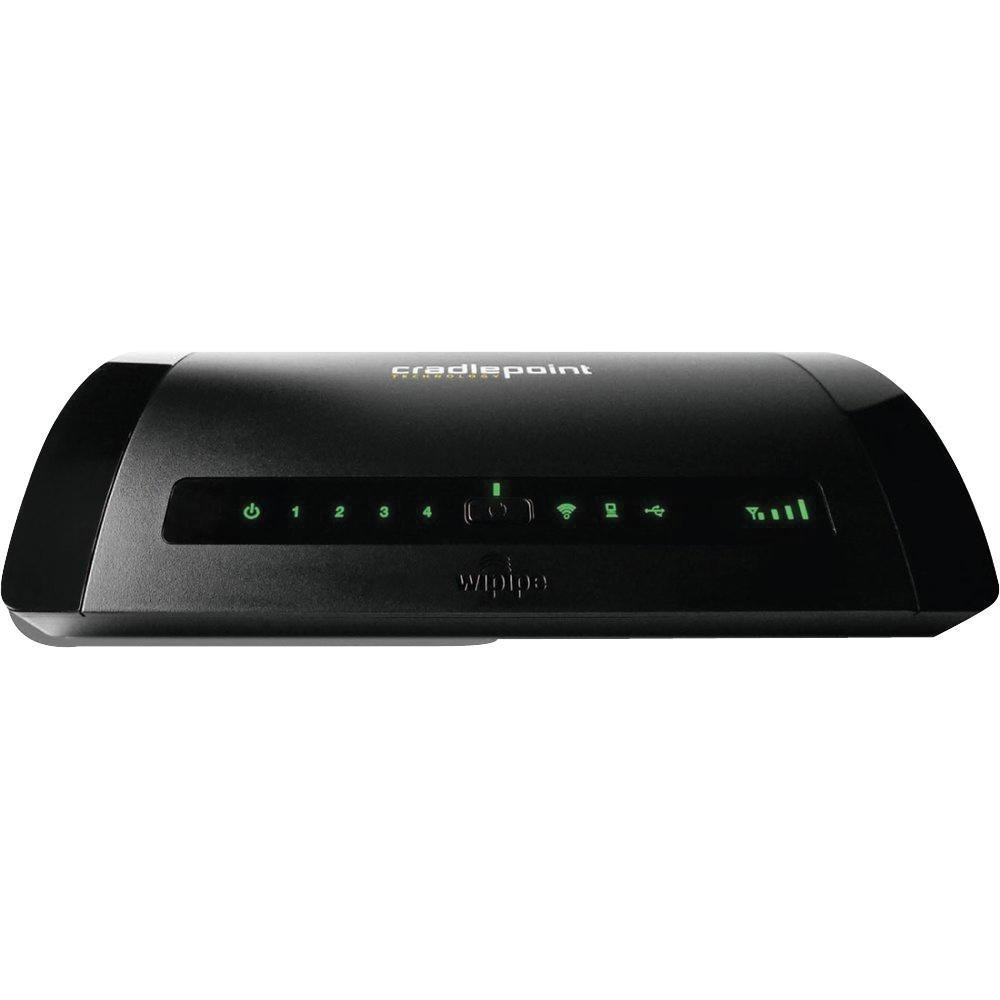 ROUTER CELULAR 3G/4G INALAMBRICO CRADLEPOINT MBR95 WIFI 802.11BGN 2X2 MIMO 300MBPS 600FEET