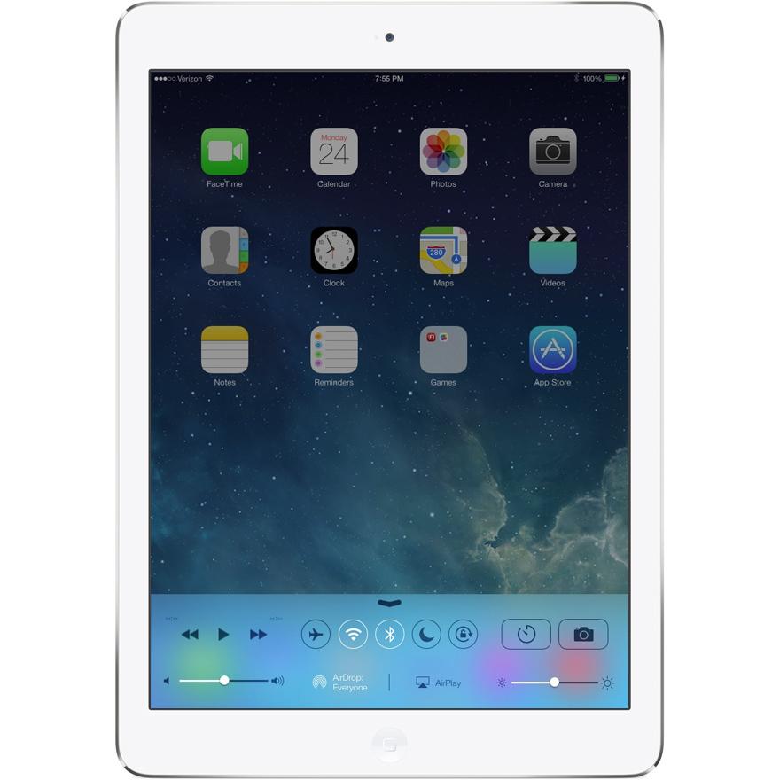 "Apple ipad Air retina 9.7"" WiFi 16Gb plateada"