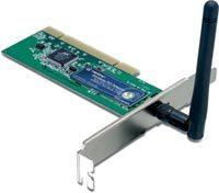 wifi 802.11g 54mbps trendnet pci tew-423pi
