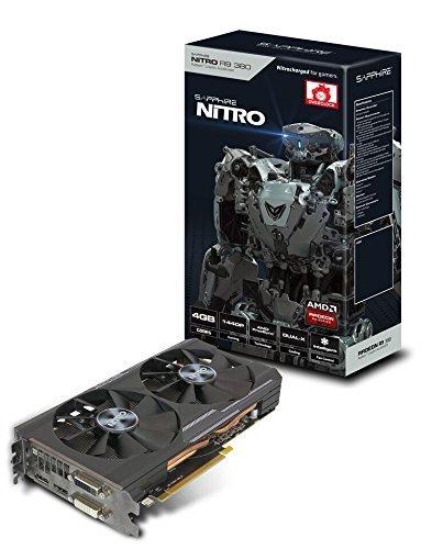 TARJETA VIDEO PCIE X16 SAPPHIRE RADEON NITRO R9 380 4GB GDDR5 256-BIT DL-DVI-I / DL-DVI-D / HDMI / DP DUAL-X OC (UEFI) 11242-07-20G