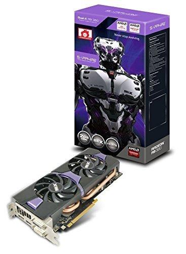TARJETA VIDEO SAPPHIRE RADEON R9 380 2GB GDDR5 256-BIT DL-DVI-I / DL-DVI-D / HDMI / DP DUAL-X OC VERSION (UEFI) 11242-02-20G