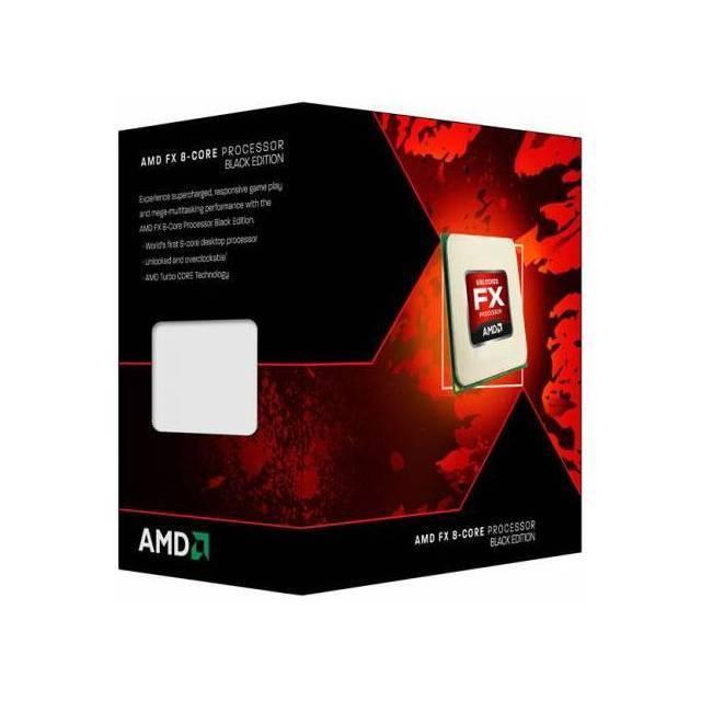 PROCESADOR AMD AM3+ FX-9590 VISHERA EIGHT-CORE 4.7GHZ MAX 5.0GHZ 8 THREAD 8MB L2 16-W 8MB L3 64-W 32NM DDR3-1866 29.9GB/S 220W FD9590FHHKWOF SIN VENTILADOR