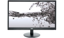 MONITOR LED 22IN AOC E2270SWN 1920X1080 16:9 20000000:1 5MS 200 CD/M? VGA VESA 100X100MM 21.5IN COLOR NEGRO