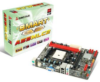 TARJETA MADRE BIOSTAR AMD FM1 A55MLC2 2DDR3 1866/1600/1333/1066/800 MAX 16GB DC X16 2.0 X1 2.0 4SATA2 RAID 0/1/10 SONIDO 6CH RED 10/100 8USB2.0 2PS2 VGA MICRO ATX
