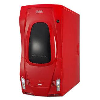 CAJA MEDIA TORRE CAS-F1-RD ROJA 400W UL USB AUDIO 1394