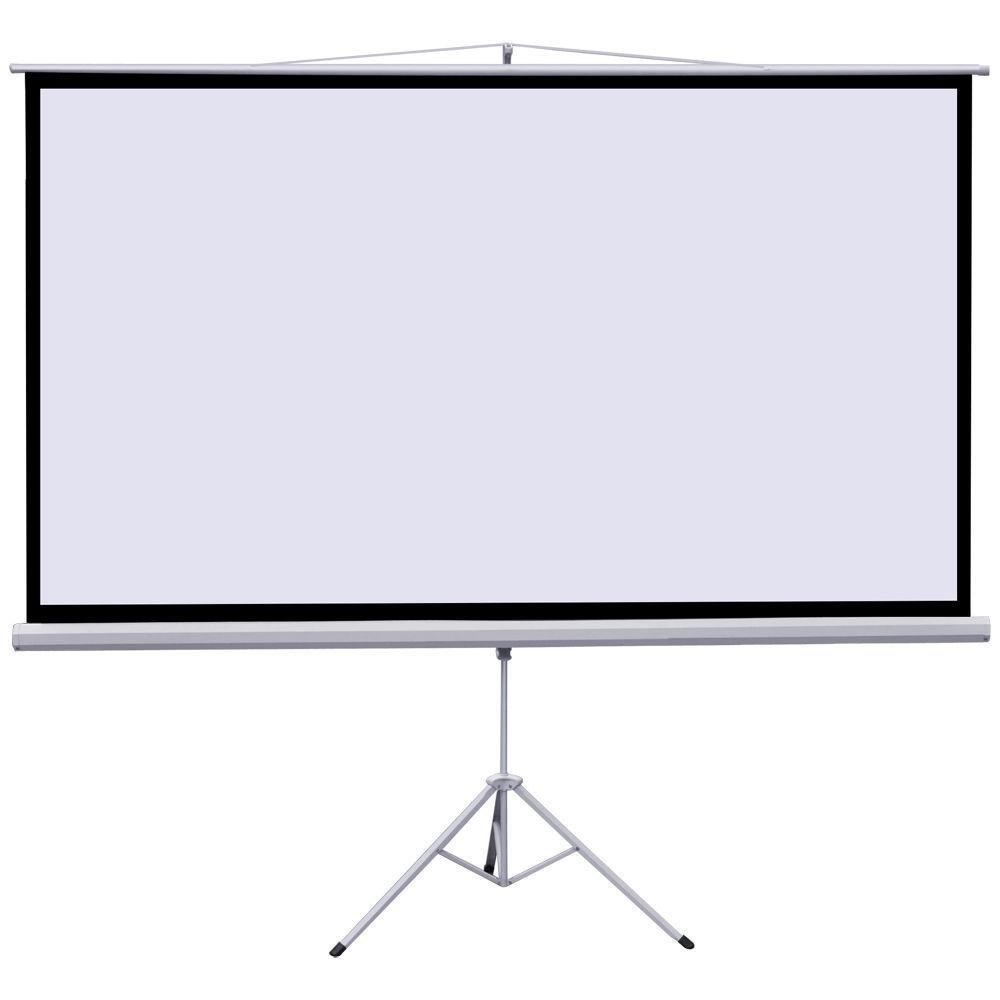 PANTALLA PROYECTOR TRIPODE 100IN DIAGONAL 87IN X 49IN 16:9 PULL-UP MATE BLANCO TS B0154M47PM