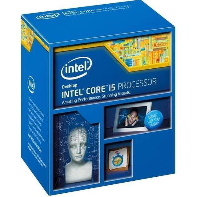 PROCESADOR INTEL LGA1150 CORE I5-4460 HASWELL 3.2GHZ MAX 3.4GHZ VIDEO HD 4600 GBF 350MHZ MAXIMO DINAMICA 1.1GHZ 4CORES 4THREADS 6MB CACHE 22NM 5GT/S 84W MULTIPLICADOR 31X MAX 32GB DC 1600/1333 BX80646I54460