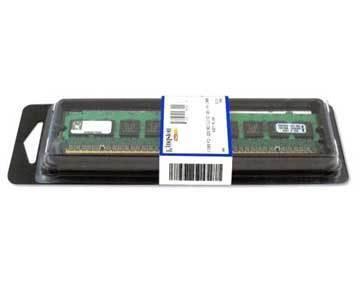 MEMORIA DDR2 PC2-3200 400MHZ KINGSTON 512MB KVR400D2S8R3/512I ECC REGISTRADA VALIDADA PARA SERVIDOR INTEL