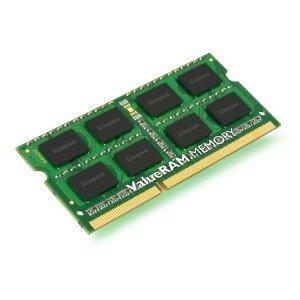 MEMORIA SODIMM DDR3-1333 PC3-10600 1333MHZ KINGSTON 2GB KVR1333D3S8S9/2G 204-PIN