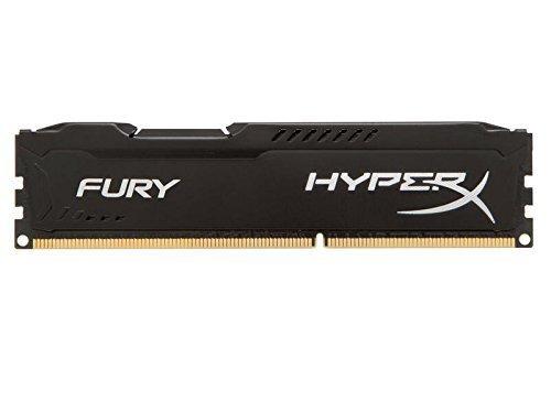 Kingston 8GB Hyperx Fury Negra DDR3 1600Mhz