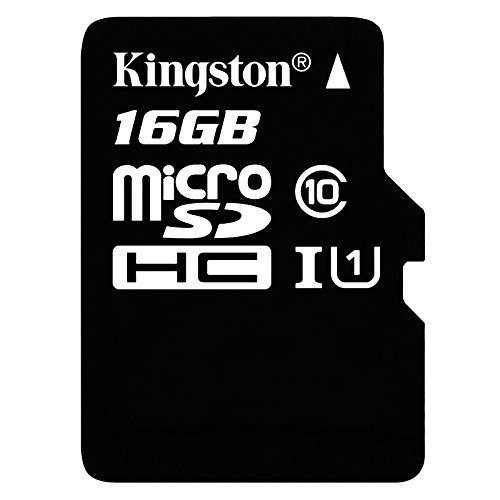 MEMORIA MICRO SDHC SECURE DIGITAL KINGSTON 16GB SDC10G2/16GB 45MB/S LECTURA 10MB/S ESCRITURA