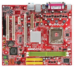 tarjeta madre msi lga775 p4m900m2-l 533/800/1066 ddr2 400/533/667 v/s/r gma3100 x16 x1 2pci core2duo pd celd 2sata2 4usb2.0 vista capable 7255-170