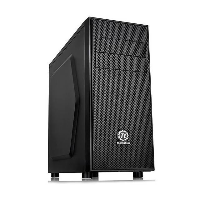 caja media torre thermaltake versa h24 sin fuente bahias externa 2x 5.25 interna 3x3.5 3x2.5 7slots usb3.0 usb2.0 audio hd ca-1c1-00m1nn-00 negra