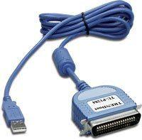 trendnet trendware tu-p1284 usb a paralelo cable 1x usb 1x paralelo