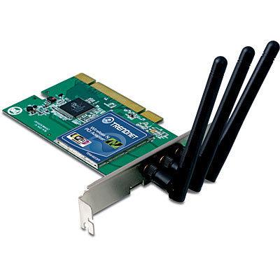 TARJETA RED INALAMBRICA 802.11N 300MBPS PCI TRENDNET TEW-623PI