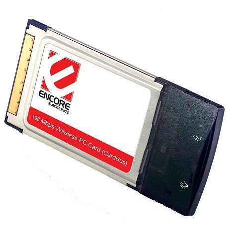TARJETA RED INALAMBRICA 802.11G 108M PCMCIA ENCORE ENPWI-SG