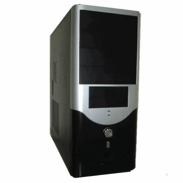caja mediatorre cas-2829a-4s-dx 20+4 sata 450w audio/usb plata/negra