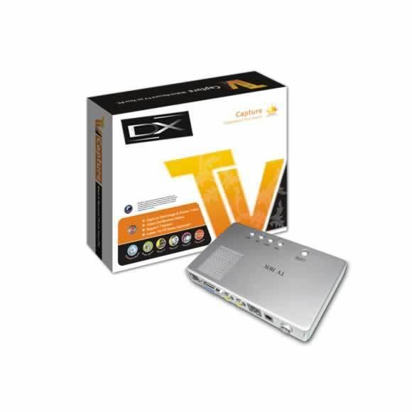 SINTONIZADOR EXTERNO TVBOX CONVIERTE MONIT. LCD EN TV DX SXGA 1280X1024 DX-WS-TVLCD03