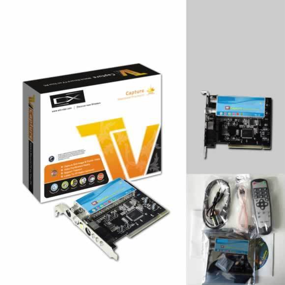 tarjeta sintonizadora tv pci chip 7130 radio fm dx av/s dx-ws-tvp7130fm