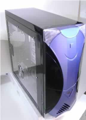 CAJA MEDIA TORRE DX-ETMBT-2 450W 1SATA 20+4PIN SECC 0.6MM USB2.0 LATERAL TRANSPARENTE VENTILADOR COLOR DISPLAY TEMPERATURA 4 LUCES FRENTE BLANCO NEGRO
