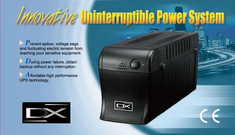 dx dx-1060f 600va con regulador