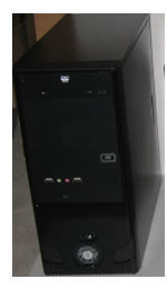 CAJA MEDIA TORRE DX-55USBIF USB SONIDO FRONTAL 0.5MM FUENTE 650W 24PIN 4PIN 3MOLE MOUSE DX-FM04 PARLANTE DX-1500