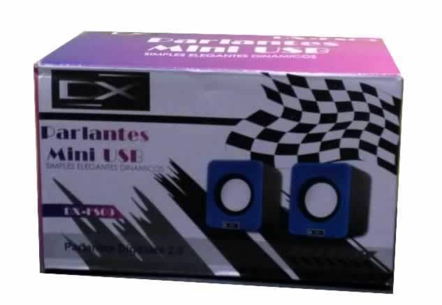 PARLANTES 2.0 1.5W USB DX-FS09