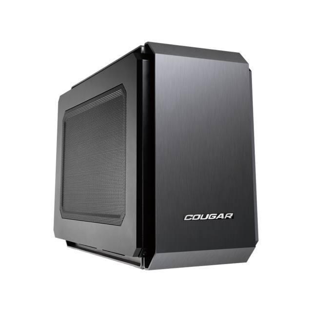CAJA MINI ITX COUGAR QBX SIN FUENTE DE PODER VENTILADOR 1X90MM 2 USB3.0