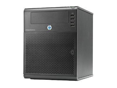 SERVIDOR HP PROLIANT MICRO G7 N54L TURION II NEO 2.2GHZ 2GB 1X2GB MAX 8GB 2 RANURAS PC3-10600 UNBUFFERED ECC 800MHZ 250GB 4 PUERTOS SATA RAID 0/1 RED 10/100/1000 1GB NC107I 150W NON-HOT PLUG 704941-001