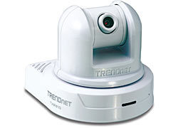 CAMARA IP TRENDNET TV-IP410 PAN 330GRADOS TILT 105GRADOS 30FPS 640X480 ZOOM 3X