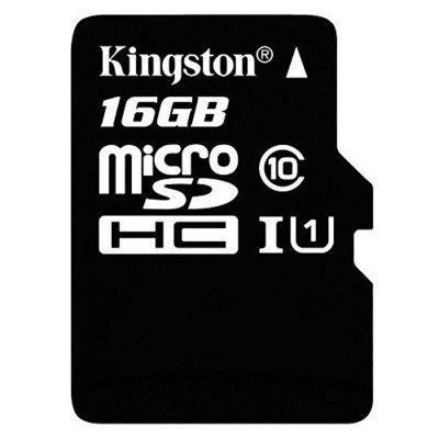 MEMORIA MICRO SDHC SECURE DIGITAL KINGSTON 16GB SDC10G2/16GB 45MB/S LECTURA 10MB/S ESCRITURA