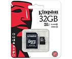 MEMORIA MICRO SDHC SECURE DIGITAL KINGSTON 32GB SDC10G2/32GB 45MB/S LECTURA 10MB/S ESCRITURA
