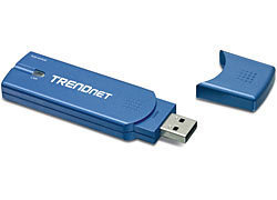 ADAPTADOR USB A RED INALAMBRICA 802.11G 108MBPS TRENDNET TEW-444UB