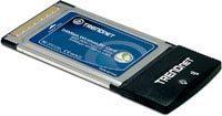 TARJETA RED INALAMBRICA 802.11G 54MBPS PCMCIA TRENDNET TEW-421PC