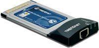 TARJETA RED 10/100 PCMCIA TRENDNET TE100-PCBUSR XPRESSPORT 32BIT CARDBUS