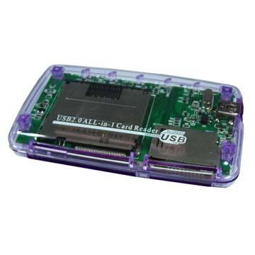 LECTOR MEMORIAS EXTERNO USB2.0 TODO EN UNO DX-RMCP005CR