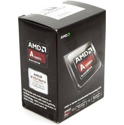 PROCESADOR AMD FM2 A10-6790K RICHLAND 4CORES APU 4.0GHZ TURBO 4.3GHZ VIDEO RADEON HD 8670D 844MHZ MEMORIA DOBLE CANAL DDR3-2133 64BITS 4THREAD 32NM 4MB CACHE L2 100W UNLOCKED CLOCK MULTIPLIER AD679KWOHLBOX