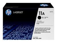 TONER HP Q6511A NEGRO ORIGINAL PARA LASERJET 2400 SERIES 2420 2430 6K