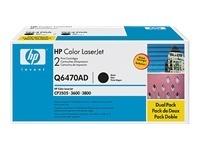 TONER HP Q6470A NEGRA ORIGINAL HEWLETT PACKARD LJ3600