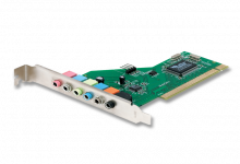 TARJETA SONIDO 7.1 CANALES ENCORE ENM232-8VIA 24BIT 96KHZ PCI