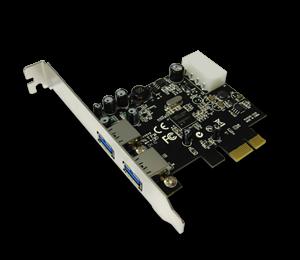 TARJETA CONTROLADORA PCIE-X1 2 USB3.0 5GBPS 10X USB2.0 ENCORE ENLUH-302