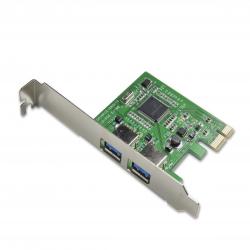 TARJETA CONTROLADORA PCIE-X1 2 PUERTOS USB3.0 SYBA SY-PEX20081 5GB/S