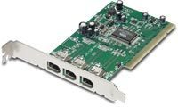 TARJETA CONTROLADORA TRENDNET 3 PUERTOS FIREWIRE IEEE1394 PCI W/ 6FT CABLE TFW-H3PI